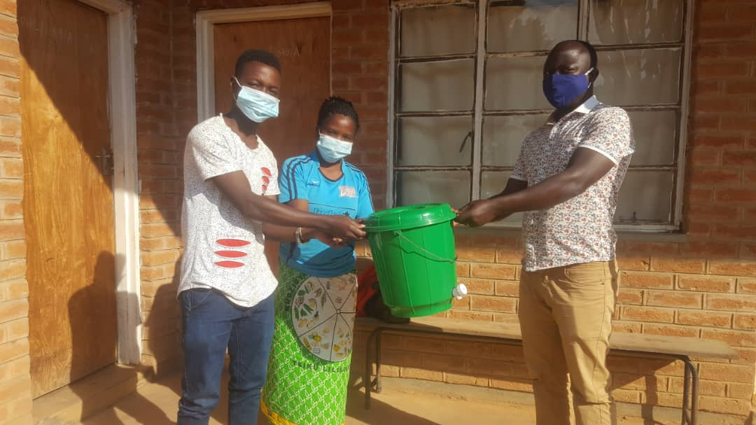 handwashing bucket donation
